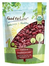 Food to Live Certified Organic Dried Cranberries (Non-GMO, Unsulfured, B... - $17.98
