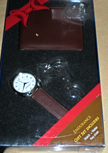 Primary image for Men's Gift Set - Watch, Wallet & Key Chain
