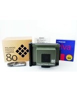 POLAROID Pinhole Camera 80 Olive [Near mint] From JAPAN - €145,68 EUR