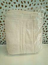 FIELDCREST 2Pc  Towel Set 100%Cotton 1 HAND Towel & 1 Washcloth -ALMOND CREAM- image 3