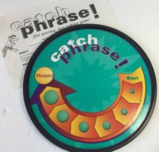 Catch Phrase Original Fast Passing Talking Board Game Instructions Parts... - $14.84