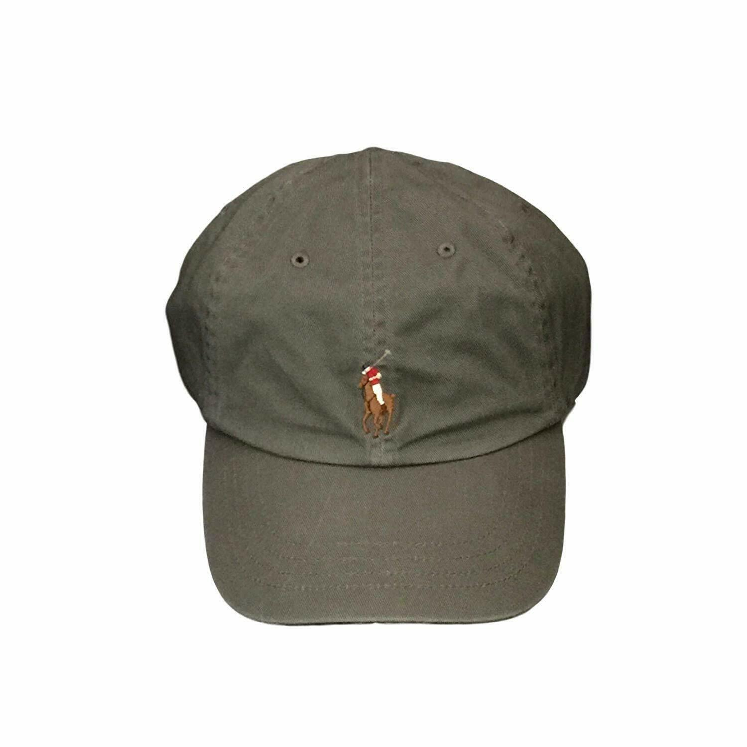 c242c52e5 Polo Ralph Lauren Chino Baseball Cap College Grey Colored Pony One Size -   33.62