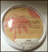 NEW & SEALED Large Wet n Wild Coloricon Bronzer & Blush #34296 Hold Me Tight     - $8.75