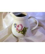 Kahla Pink, Blue & White Floral Creamer 8 Oz - $7.55