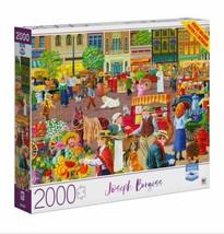 2000 Piece Jigsaw Puzzle Joseph Burgess 32 in. x 24 in., Street Vendor - $28.45
