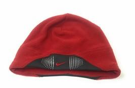 Nike Adult Pearl Plush Heat Beanie Winter Hat Cap Red - £30.49 GBP