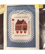 Sunset Stitchery House And Home Embroidery Kit Judith Koch Dick - $14.54