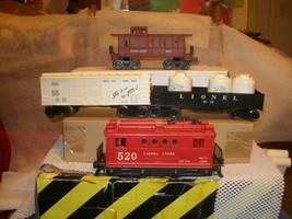 Lionel Postwar O Gauge 1542 freight Set with set box and three component boxes - $200.00