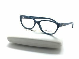 Versace Mod. Teal 5058 Crystal Eyeglasses Frame 52-15-140 Italy 3189-B - $77.57