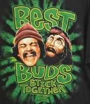 Cheech & Chong's  Up in Smoke T-Shirt Best Buds Stick Together  Black XL - $16.79