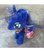 Build A Bear Workshop BAB My Little Pony Pegasus Unicorn Luna Moon Cape ... - $35.00