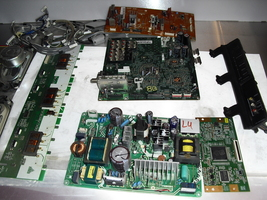 toshiba 32lv67   all  boards  and  cables   - $45.00