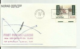 FIRST POSIDEN LAUNCH USS OBSERVATION COLORADO SPRINGS, CO 12/16/69 #52 O... - $2.98