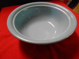 "Beautiful FIESTA Pottery ""Blue"" VEGGIE  BOWL.....9.25"" diameter..3.5"" he... - $6.64"