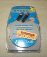 Dynex DX-AV221 Factory Sealed Stereo Audio Cable 6 Feet - $4.56