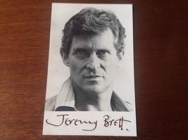 JEREMY BRETT ORIGINAL SIGNED Very Scarce PHOTOGRAPH - $470.25