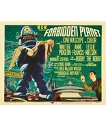 Forbidden Planet Poster 30x40 Horizontal RARE Robbie The Robot Anne Fran... - $39.99
