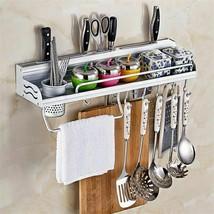 Wall Mount Kitchen Rack Tool Organizer Knife Holder Utensil Storage Hook... - £29.93 GBP
