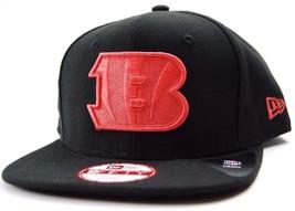 Cincinnati Bengals New Era 9Fifty NFL Football Team Logo Snapback Cap Hat OSFM - $20.85
