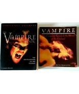 Vampire Encyclopedia & Complete Guide To the World Of The Undead Book Vtg Lot 2 - $11.87