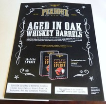 "aged in Oak whiskey barrels perioue blend tobacco ad 8.5 x 11"" man cave art - $3.00"