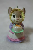 Hallmark Keepsake 1994 Yummy Recipe Bunny WIth Cake Easter Ornament Deco... - $19.79