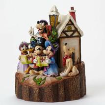 """7.25"""" """"Holiday Harmony """"Mickey, Pluto, Donald Duck- Jim Shore Disney Traditions image 2"""