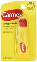 Carmex Classic Lip Balm 0.35 Ounce 3 Count Pack of 3 - $3.96