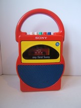 My First Sony Tape Player Cassette Corder VTG No Microphone For Parts of... - $11.51