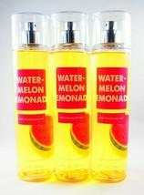 (6) Bath & Body Works Watermelon Lemonade Fine Fragrance Mist 8oz - $56.94