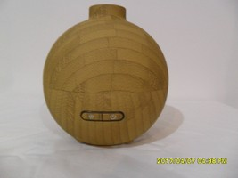 Aromatherapy Ultrasonic Cool Mist Rubberized Bamboo Wood Diffuser - €43,38 EUR