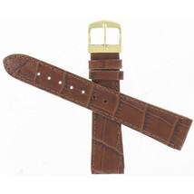 Genuine Citizen Eco-Drive 19mm Brown Crocodile Grain Watch Band 59-T50053 - $60.00