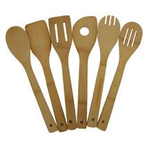 Goldbaking 6 pieces Bamboo Kitchen Cooking Utensils Premium - $22.95