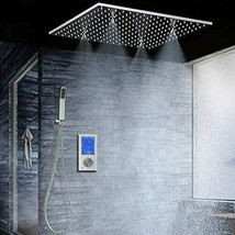 Fontana Showers Denver Chrome Digital Touch Panel Thermostatic Shower Se... - $1,242.22