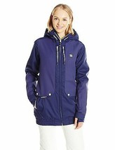 DC Junior's Riji Relaxed Fit Insulated Snow Jacket, Patriot Blue, Medium - $66.53