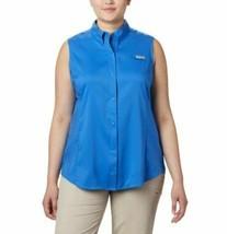 COLUMBIA Women's PFG Tamiami™ Sleeveless Shirt - Plus Size 2X STORE NEW--!!!! image 1