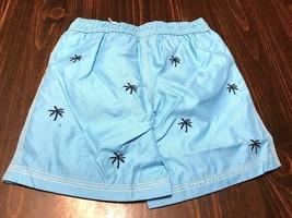 Gymboree Boys Blue Palm Tree Swim Shorts Bathing Suit Size 3T NWT GYM8 - $19.62