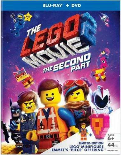 Lego Movie: The Second Part [Blu-ray + DVD + Toy]  Walmart exclusive