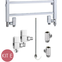 Dual Fuel Kit E For Heated Towel Rails, Conversion to Central Heating & ... - $85.42+