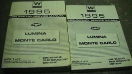 1995 Chevy Monte Carlo Lumina Service Repair Workshop Shop Manual Set - $32.61