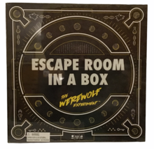 Escape Room In a Box  The Werewolf Experiment Family Board Game NIB SEALED - $49.49