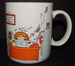 Hallmark How to Get Along at the Office Coffee Tea Cup Mug 1984 I Just L... - $24.74