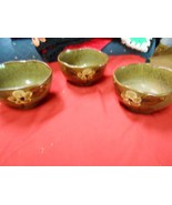 -Great Collectible ARDCO Handpainted Set of 3 RICE BOWLS................... - $8.32