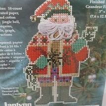 Kris Kringle Christmas Tree Ornament Cross Stitch Kit 93-330 JanLynn 1999 - $14.99