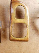00-03 Jaguar XK8 XKR 8pc Wood Grain Dash Console Switch Trim Set image 8
