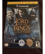 Nintendo Gamecube Video Game Lord Of The Rings The Two Towers Complete I... - $10.50