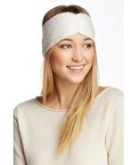 NWT Steve Madden Ivory Gold Studded Head Wrap Headband Knit Headwrap OS - $9.99