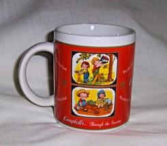 """Coffee Mug Campbells Soup """"Through The Season's"""" 2001 Collectible - $9.90"""