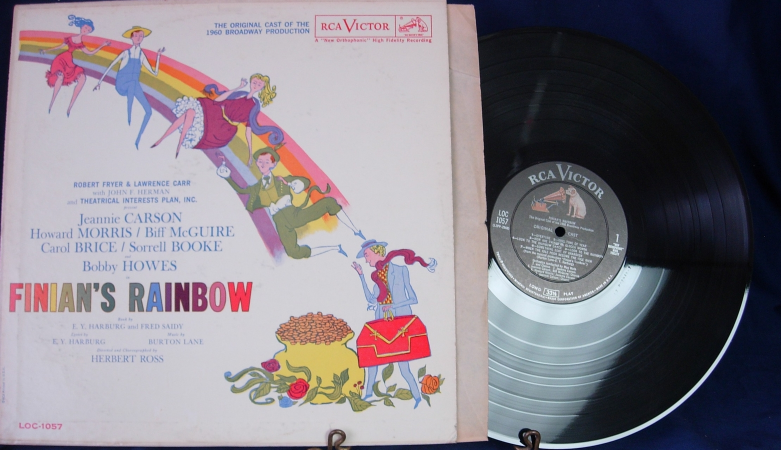 Finian's Rainbow Original Cast of the 1960 Broadway - RCA Victor LOC-1057
