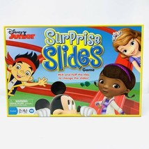 Disney Junior Surprise Slides Board Game Mickey Mouse Doc Sophia Clubhouse - $19.79